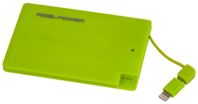Ultron RealPower PB2500 Slim Groen