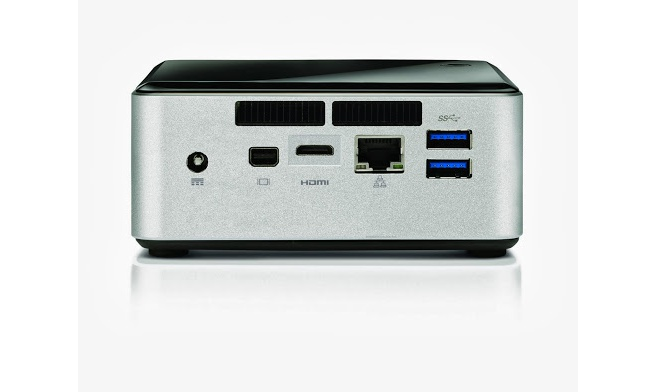 "Intel Intel Next Unit of Computing (3de generatie) Core i3-4010U (met 2.5"" hdd space)"