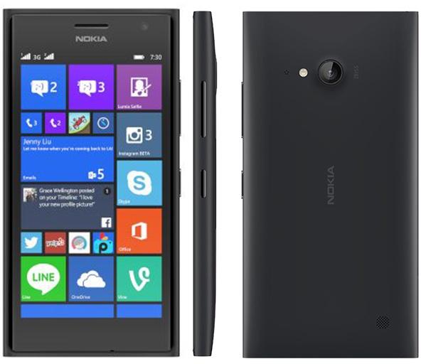 Nokia Lumia 730 Dual Sim Grafiet