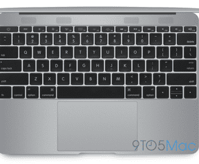 "MacBook Air 12"" 2015 (bron: 9to5Mac)"