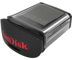 Sandisk Cruzer Ultra Fit 128GB Zwart
