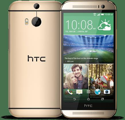 HTC One M8s Goud