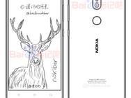 Tekening vermoedelijke Nokia 7