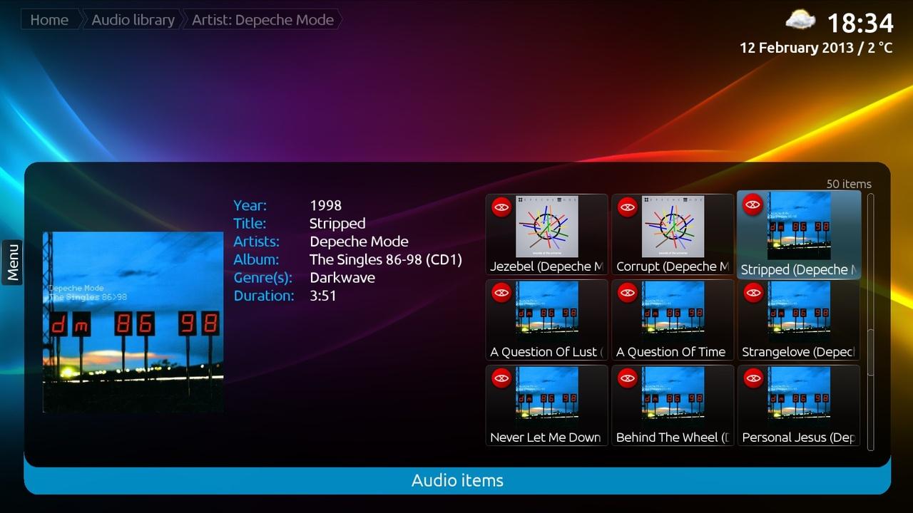 Software-update: MediaPortal 2 alpha 1 winter release