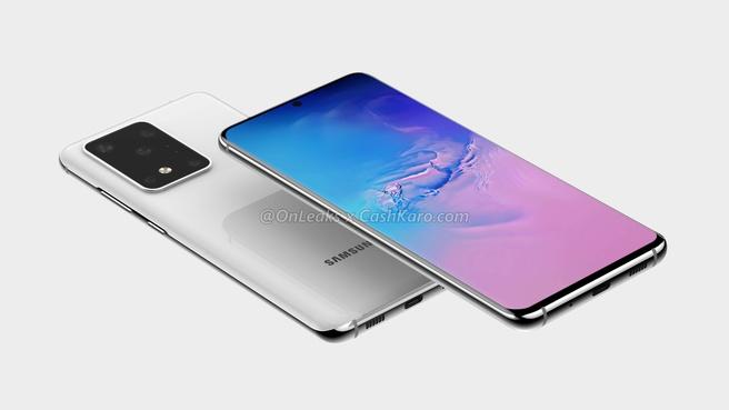Samsung Galaxy S11+-renders