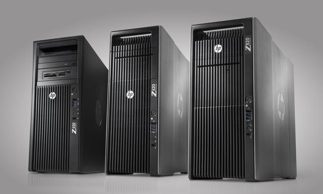 HP Workstations: Z820, Z620 en Z420