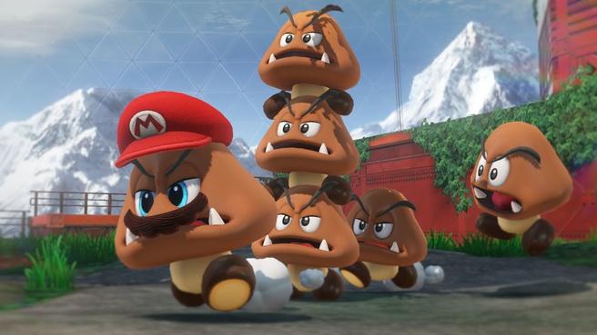 Preview Super Mario Odyssey