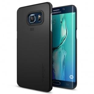 Spigen Thin Fit Samsung Galaxy S6 edge Plus Case - SGP11695 - Black