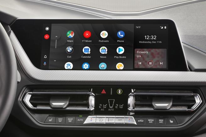 BMW met Android Auto