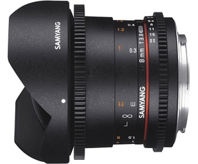 Samyang Optics 8mm T3.8 VDSLR UMC Fish-eye CS II (Fujifilm X)
