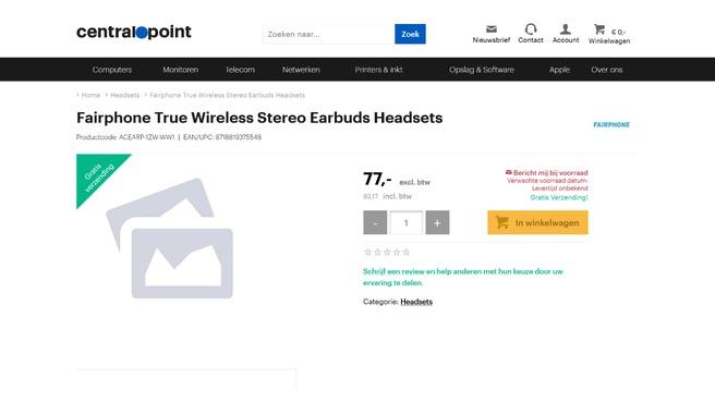 Fairphone earbuds