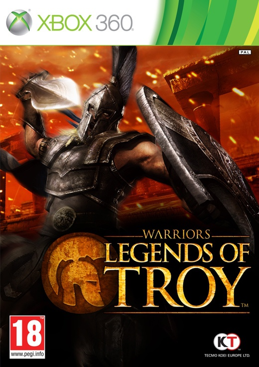 Packshot voor Warriors: Legends of Troy