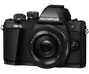 Olympus OM-D E-M10 Mark II 1442 Kit Zwart