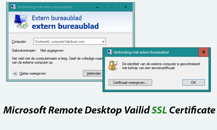 Windows 10 Rdp Valid Ssl Certificate Hklm Tweakblogs