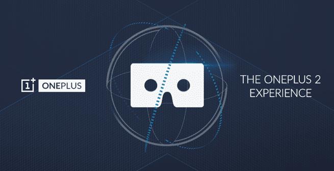 OnePlus 2 VR-aankondiging