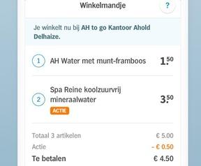 Albert Heijn Tap to go