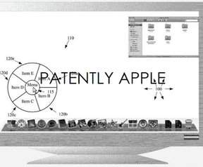 Patent Apple op interface als in Air Command op Note 3