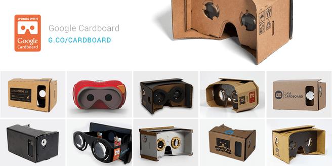 google cardboard vr works with werkt met