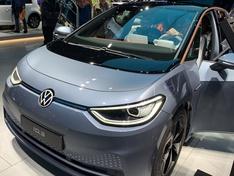 VW ID 3 Frankfurt Messe sept 2019