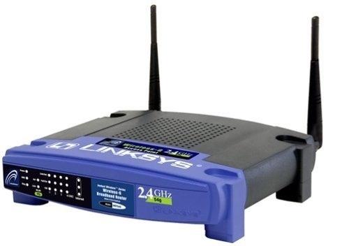 Linksys WRT54GL Wireless-G Linux Broadband Router