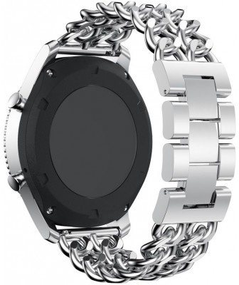 qMust Samsung Gear S3 Armband Double Chain Style - Zilver