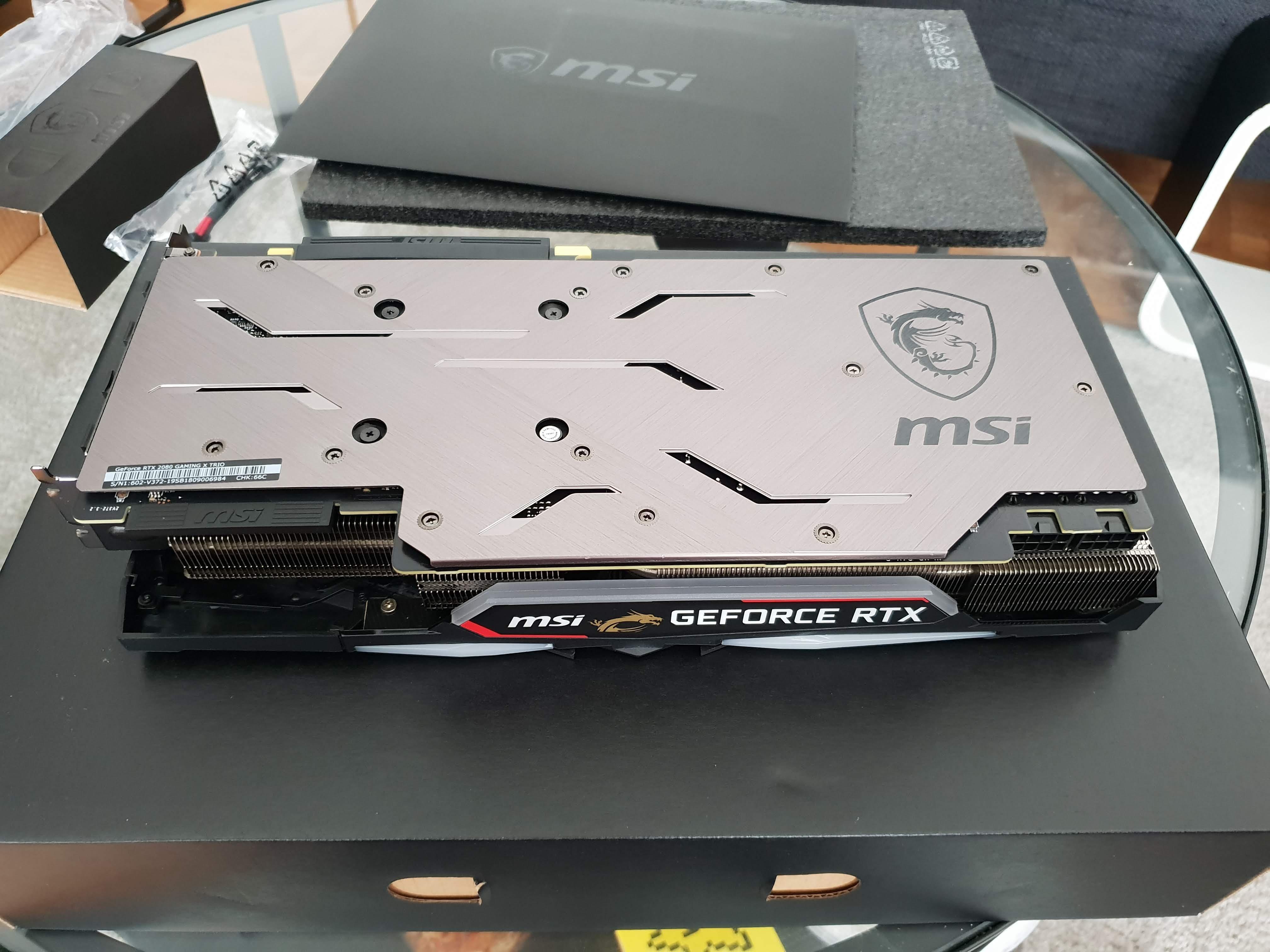 MSI GeForce RTX 2080 Gaming X Trio - FuriousB - Userreviews - Tweakers