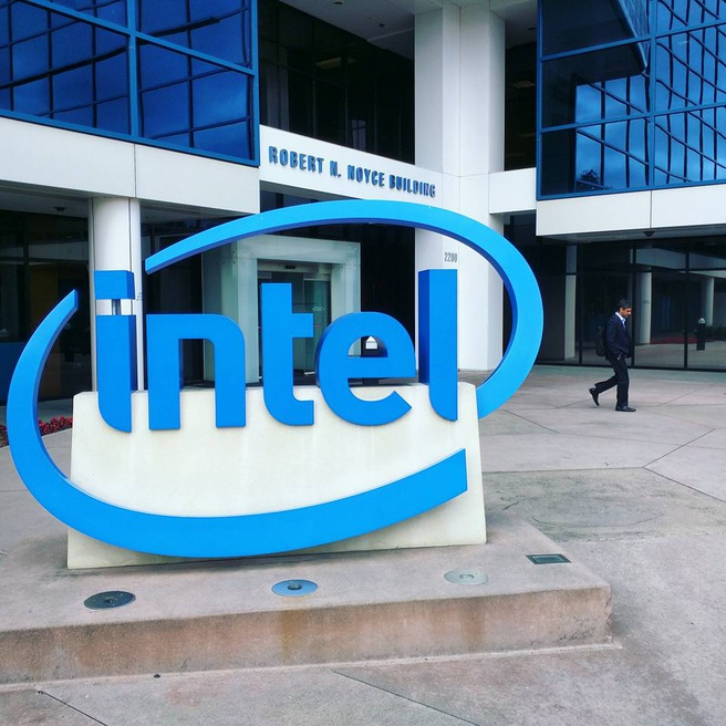 Hoofdkantoor van Intel in Santa Clara