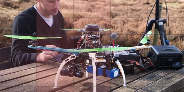 gathering drone