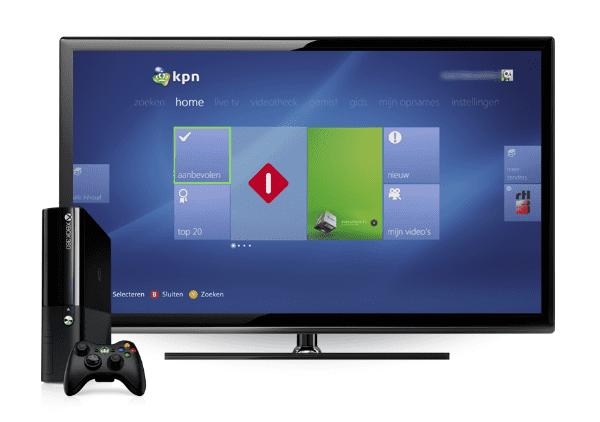KPN Xbox 360 Interactieve TV