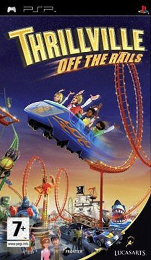 Thrillville - Off The Rails, PlayStation Portable