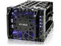 """Goedkoopste Icy Dock Black Vortex MB074SP-1B 3.5"""" SATA HDD 4 in 3 Hot-Swap Module Cooler Cage"""