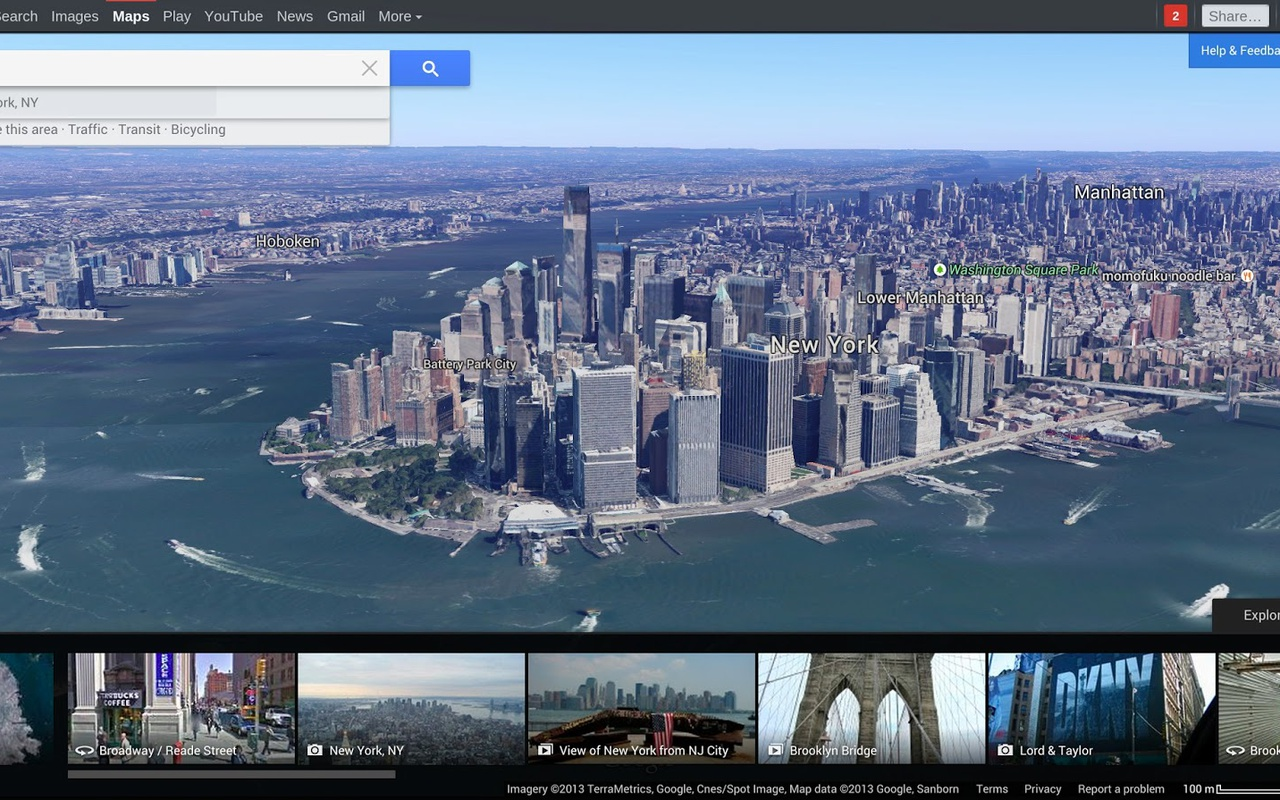 Google Maps refresh