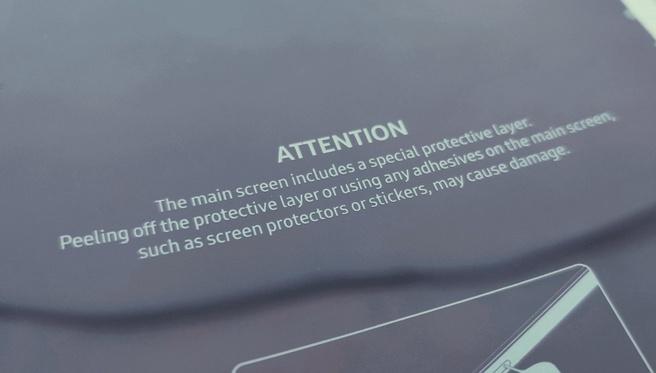 Samsung Galaxy Fold Instructies