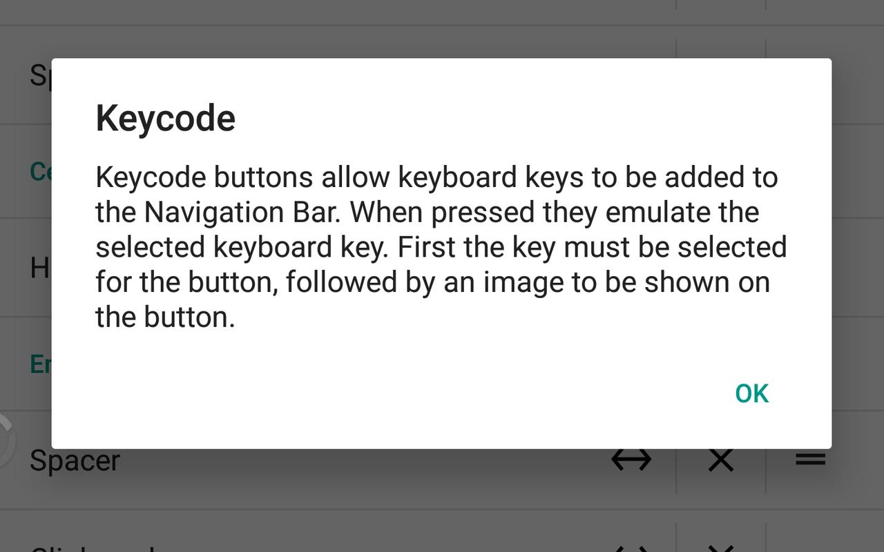 Verborgen navbar-tuner in Android 7.0