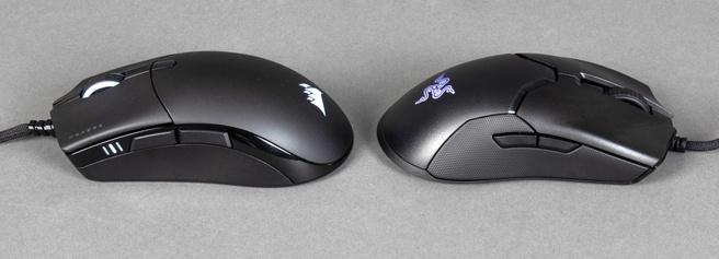 Corsair Sabre RGB Pro en Razer Viper 8KHz