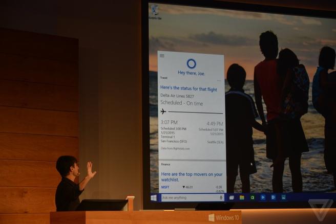 Cortana desktop