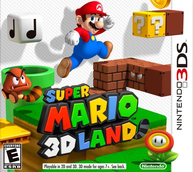 Super Mario 3D Land, Nintendo 3DS