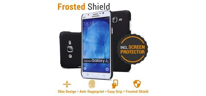 Nillkin Backcover Samsung Galaxy J5 - Super Frosted Shield - Black
