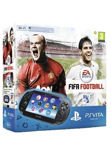 Sony PlayStation Vita WiFi + Fifa 13 (voucher) + 4GB Zwart