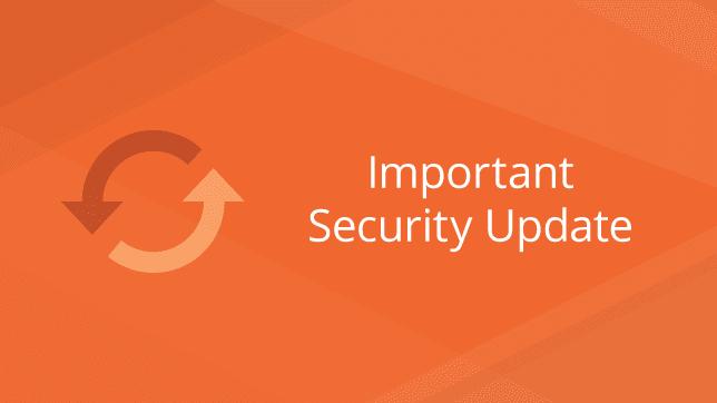 Magento security update