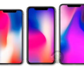 iPhone-modellen 2018