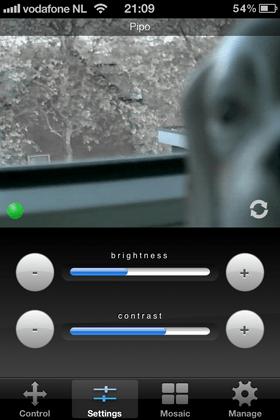 Ebode IOS App. voorbeeld 2