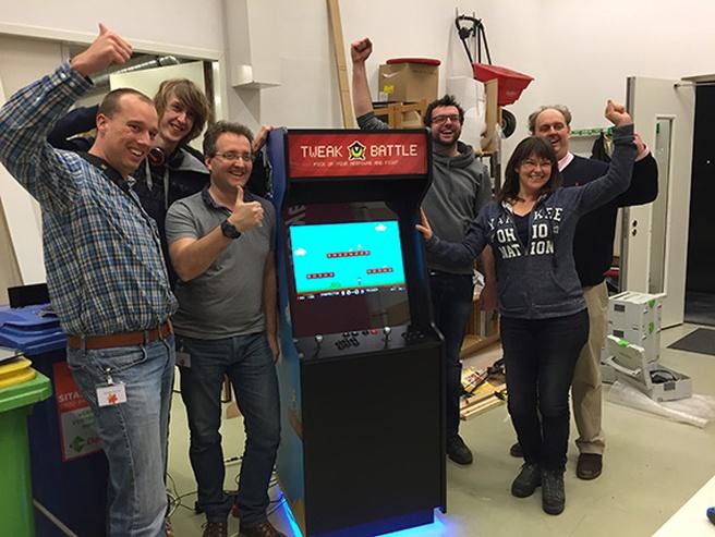 TweakBattle Arcadekast