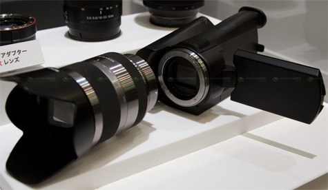 Sony hd-camcorder E-mount