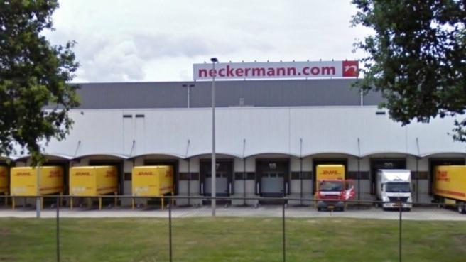 Filiaal van Neckermann in Sint Janssteen. Bron: Omroep Zeeland