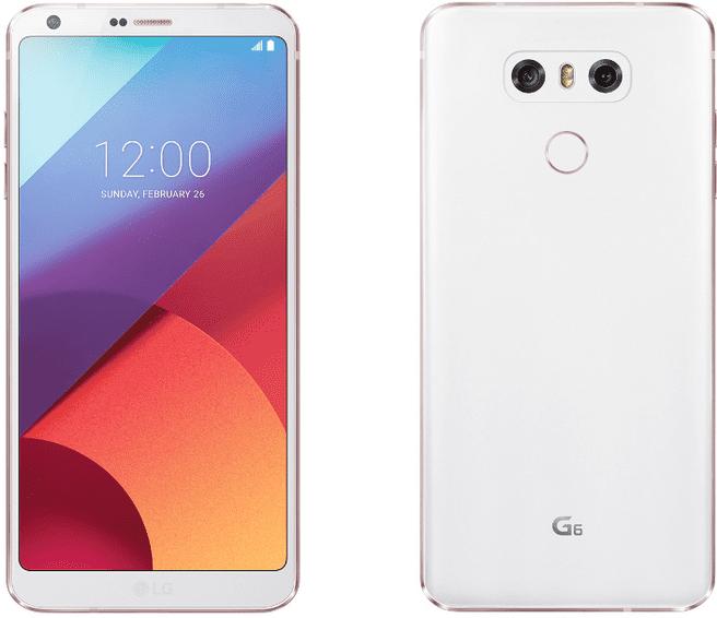 LG G6 Wit