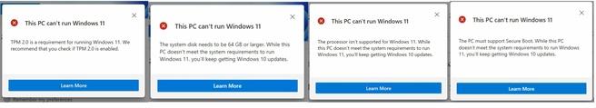 PC Health Check App voor Windows 11