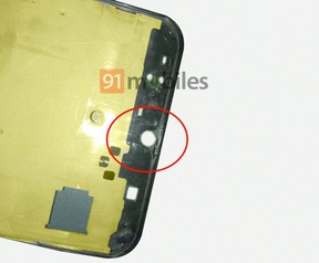 Samsung Galaxy A50. Bron: 91Mobiles