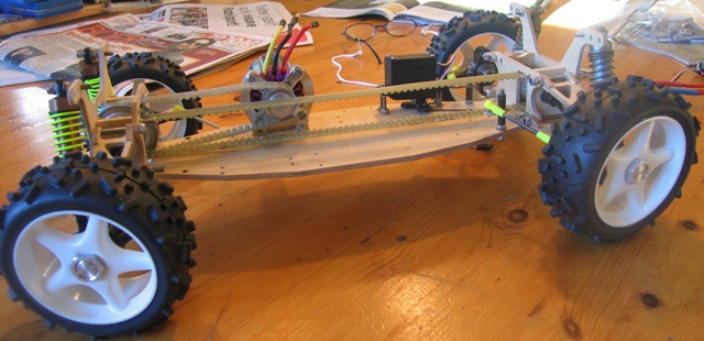 Make rc car from scratch