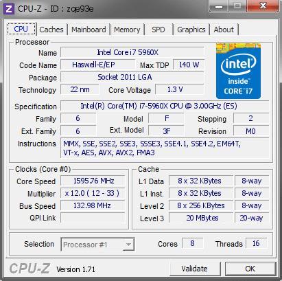 G.Skill ddr4 CPU-Z